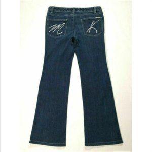 MICHAEL MICHAEL KORS Women Bootcut Jeans 2677E1M